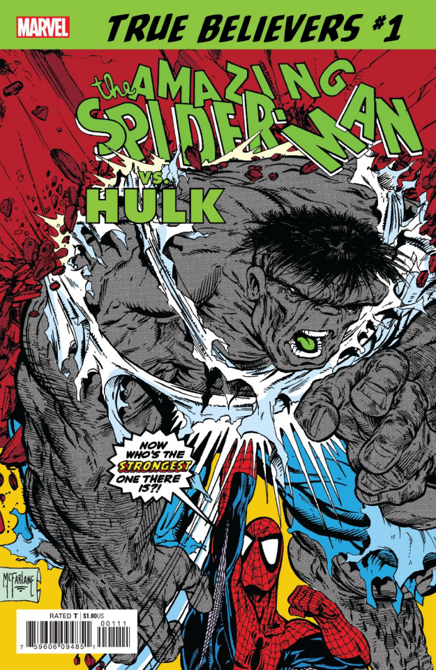 Spider-Man vs. The Hulk #1 (True Believers)