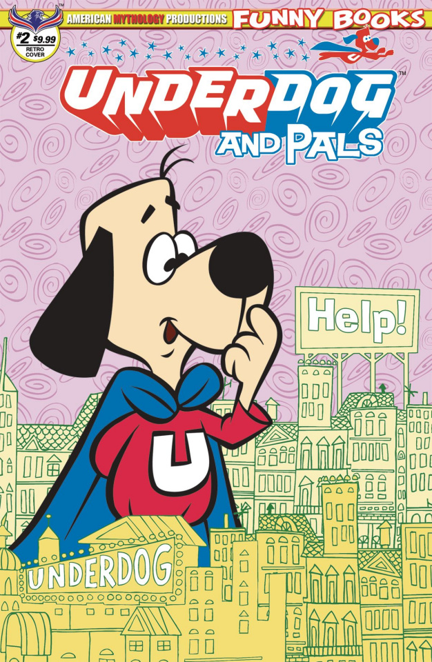 Underdog and Pals #2 (Retro Animation Cover)