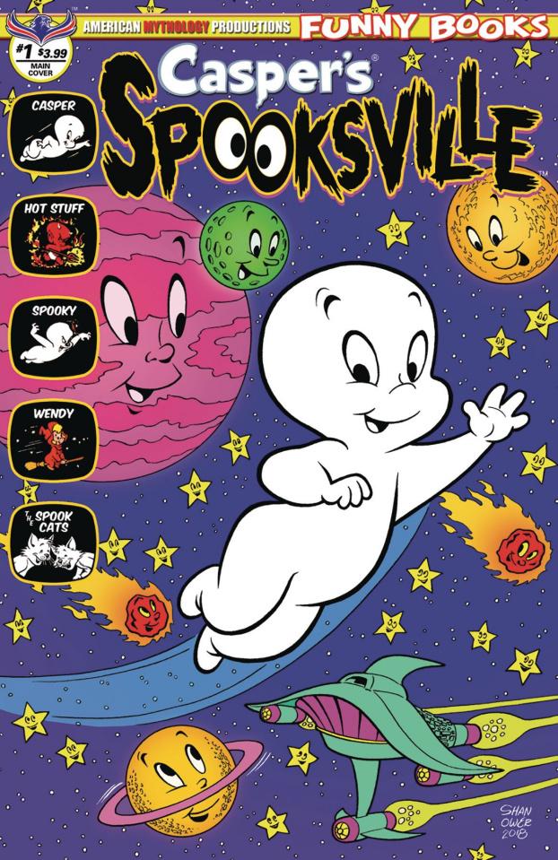 Casper's Spooksville #1 (Shanower Cover)