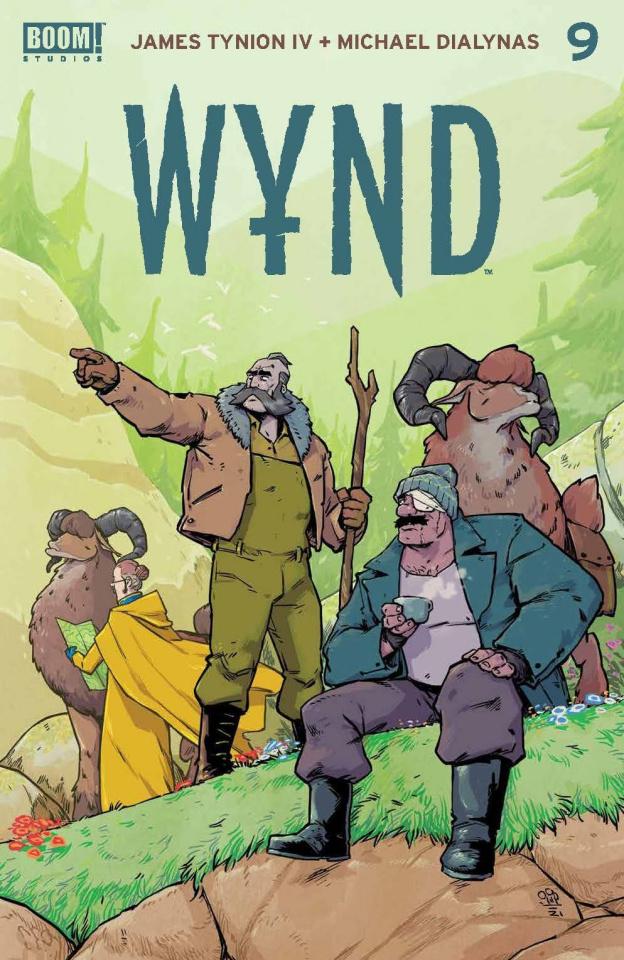 Wynd #9 (Dialynas Cover)
