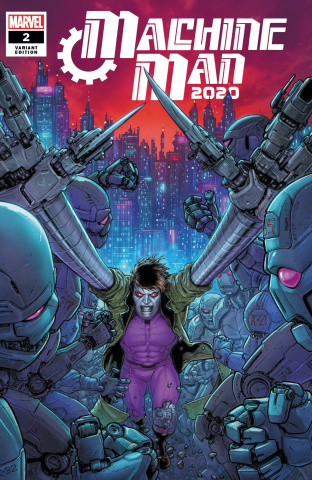 Machine Man 2020 #2 (Ryp Cover)
