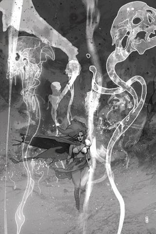 Killing Red Sonja #3 (21 Copy Ward B&W Virgin Cover)