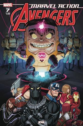 Marvel Action: Avengers #7 (Sommariva Cover)