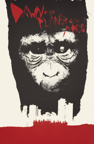 Dawn of the Planet of the Apes #1 (10 Copy Shaw Cover)