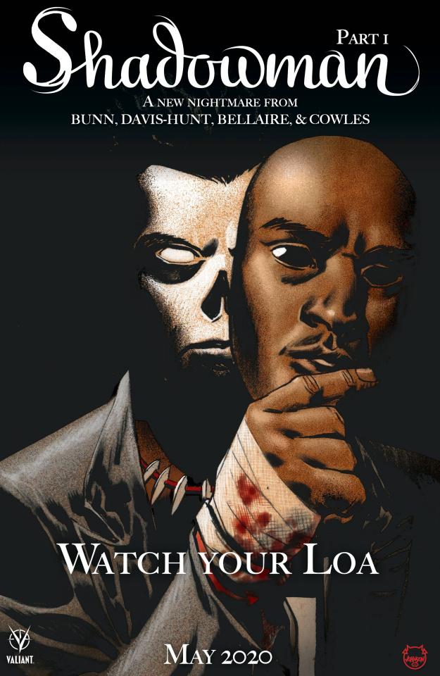 Shadowman #1 (Horror Homage Johnson Cover)