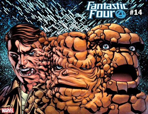 Fantastic Four #14 (McKone Immortal Cover)