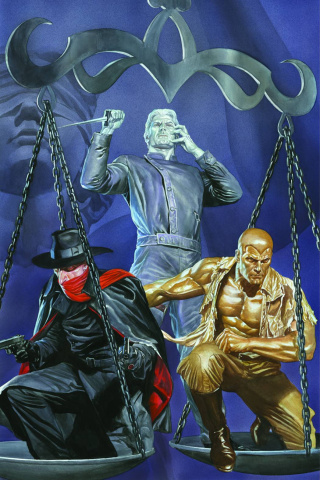 Justice, Inc. #1 (Rare Virgin Gold Ross Cover)