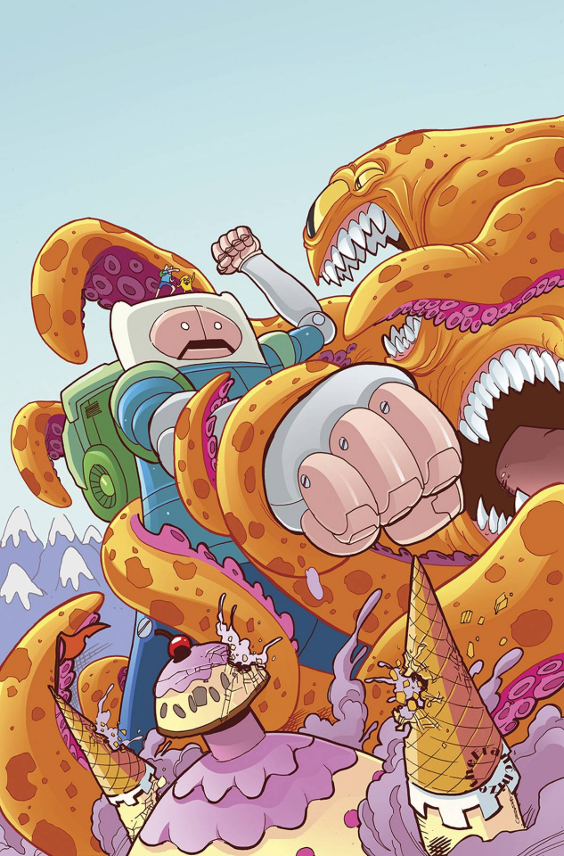 Adventure Time #37 (Subscription Gaylord Cover)