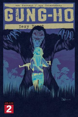 Gung-Ho: Sexy Beast #2 (30 Copy Charlie Adlard Negative Cover)