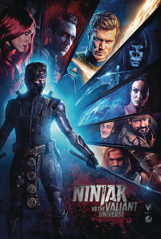Ninjak vs. The Valiant Universe #1 (Photo Cover)