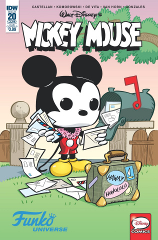 Mickey Mouse #20 (Funko Art Cover)