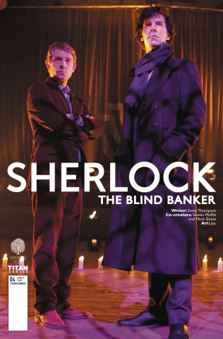 Sherlock: The Blind Banker #4 (Photo Cover)