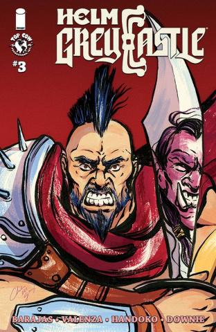 Helm Greycastle #3 (Giroux Cover)
