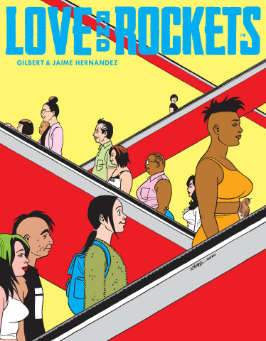 Love and Rockets Magazine #9
