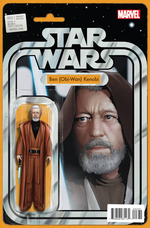 Star Wars #3 (Action Figure Cover)
