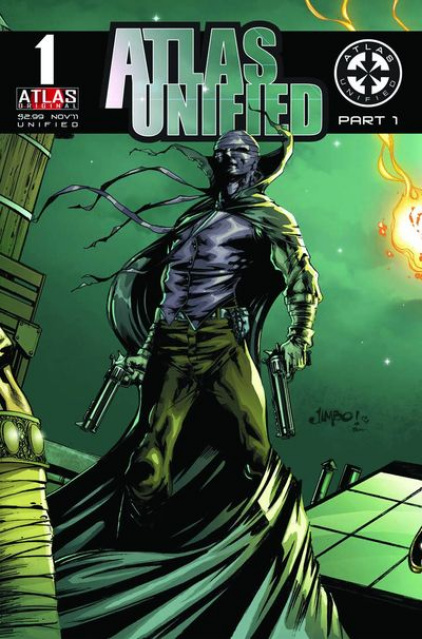 Atlas Unified #1 (Grim Ghost Cover)