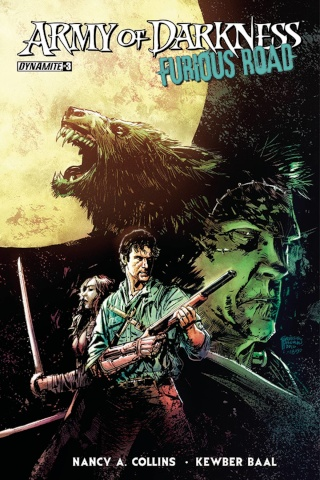 Army of Darkness: Furious Road #3 (Hardman Cover)