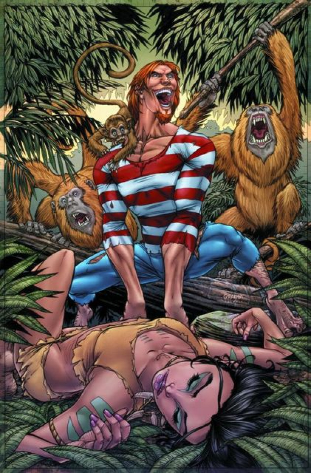 Grimm Fairy Tales: The Jungle Book #3 (Granda Cover)