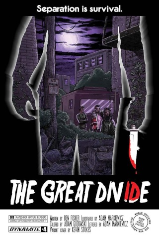 The Great Divide #4 (Stokes Homage Cover)