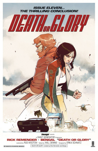 Death or Glory #11 (Bengal Cover)