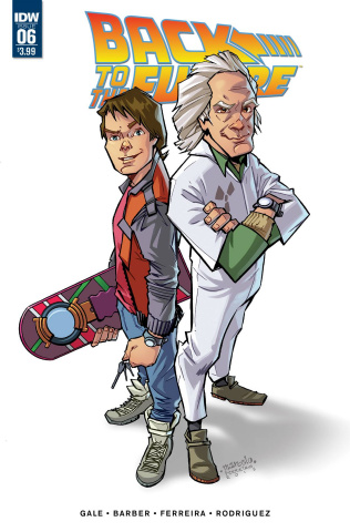 Back to the Future #6 (Subscription Cover)