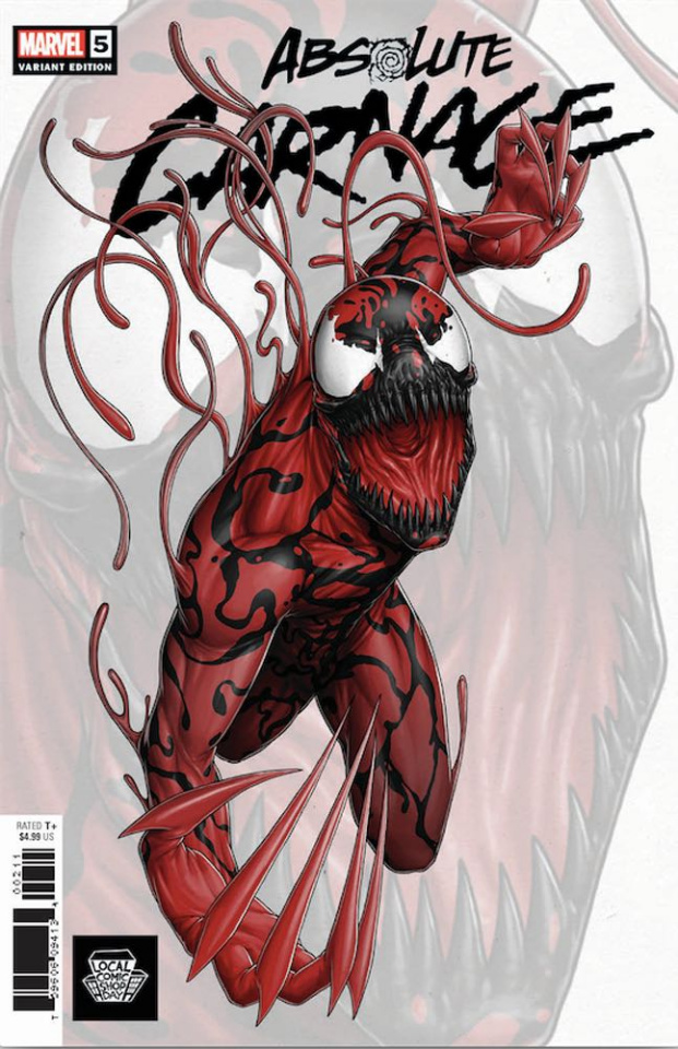 Absolute Carnage #5 (Artist Local Comic Shop Day Cover)