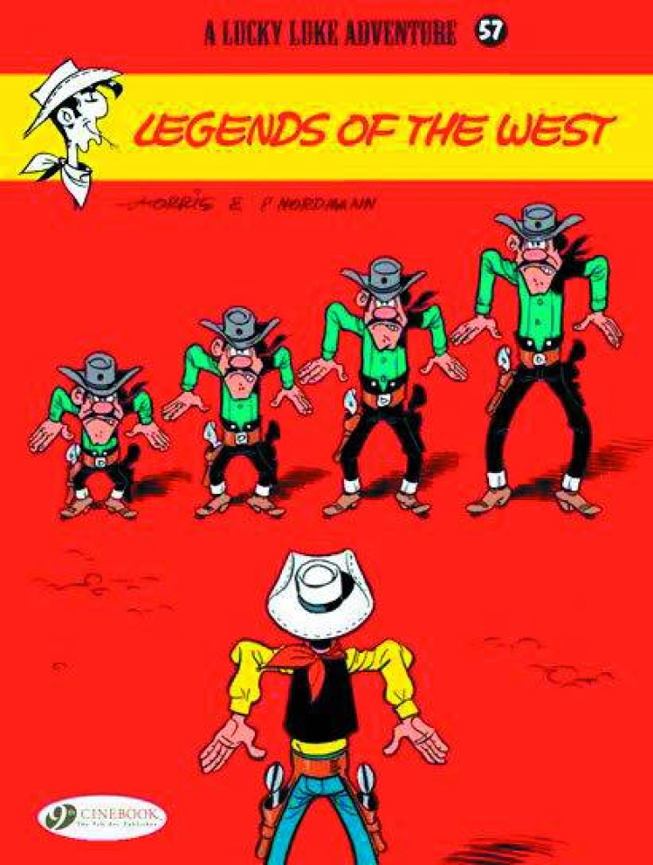 Lucky Luke Vol. 57: Legends of the West