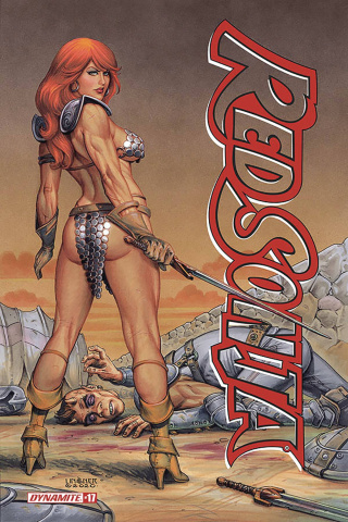 Red Sonja #17 (Linsner Cover)