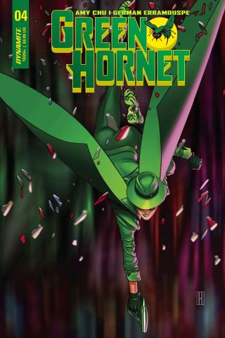 Green Hornet #4 (Choi Cover)