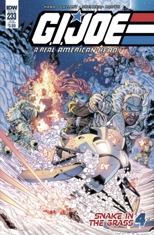 G.I. Joe: A Real American Hero #233 (Subscription Cover)