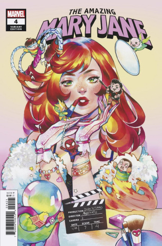 The Amazing Mary Jane #4 (Gonzales Cover)