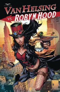 Van Helsing vs. Robyn Hood #1 (Riveiro Cover)