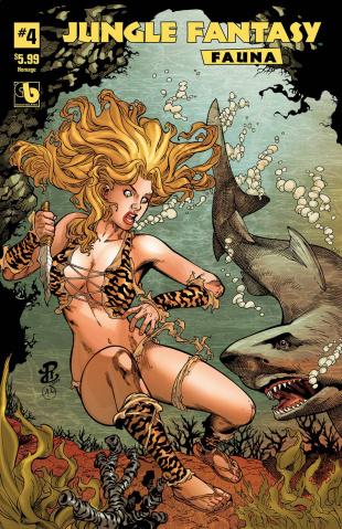 Jungle Fantasy: Fauna #4 (Homage Cover)