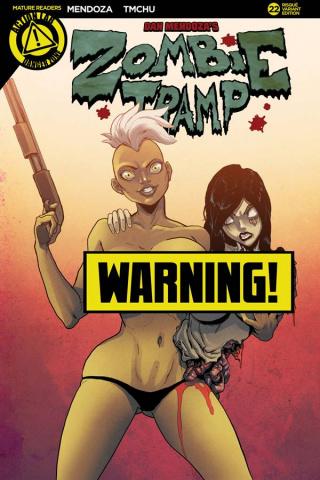 Zombie Tramp #22 (TMChu Risque Cover)