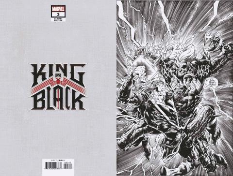 King in Black #3 (Stegman Virgin Sketch Cover)