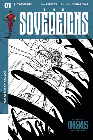 The Sovereigns #1 (40 Copy Sudzuka B&W Cover)