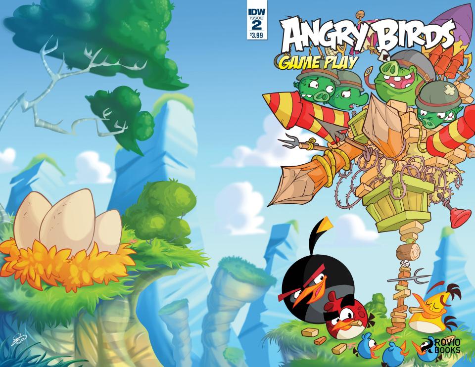 Angry Birds Comics: Game Play #2