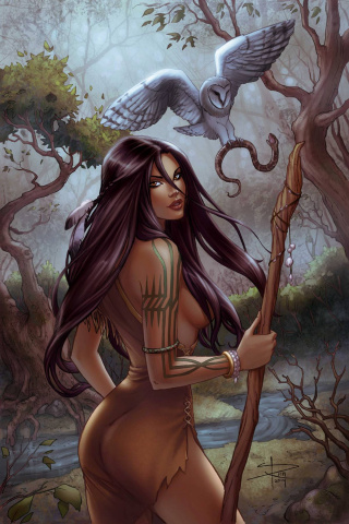 Grimm Fairy Tales: Dark Shaman #4 (Rich Cover)