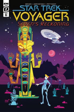 Star Trek: Voyager - Seven's Reckoning #2 (10 Copy Veregge Cover)