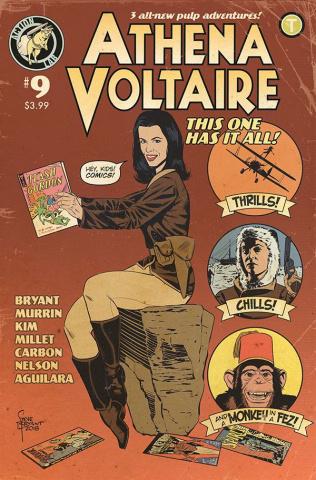 Athena Voltaire #9 (Retro Cover)