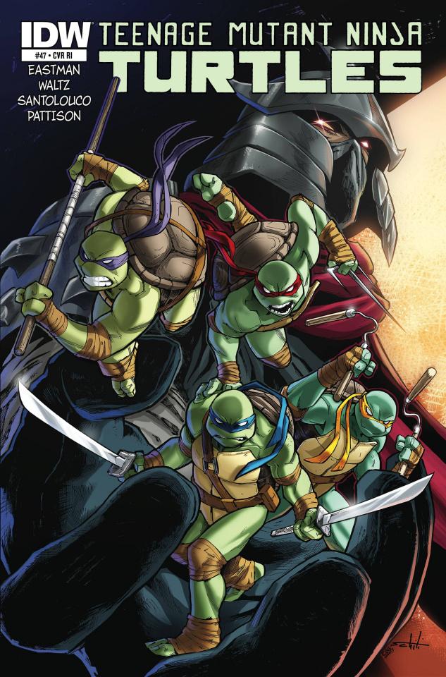 Teenage Mutant Ninja Turtles #47 (10 Copy Cover)