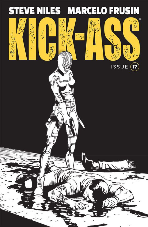 Kick-Ass #17 (Frusin Cover)