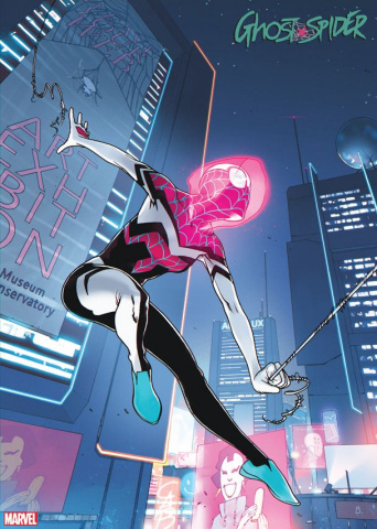Ghost Spider #4 (2099 Cover)