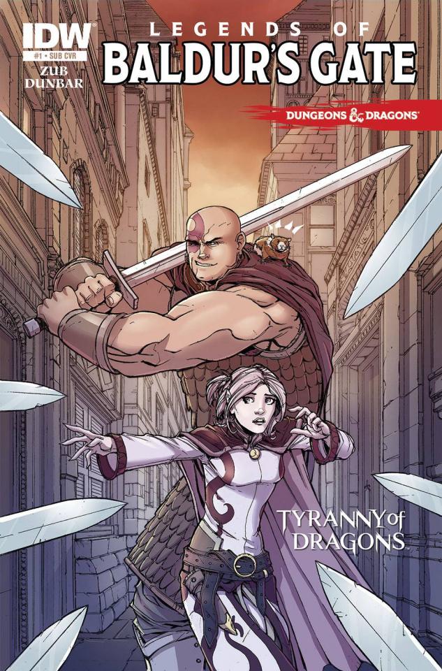 Dungeons & Dragons: Legends of Baldur's Gate #1 (Subscription Cover)