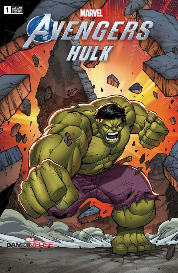 Avengers: Hulk #1 (Ron Lim Cover)