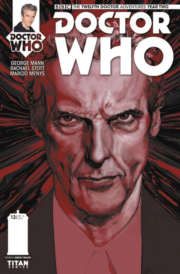 Doctor Who: New Adventures with the Twelfth Doctor, Year Two #13 (Fraser Cover)