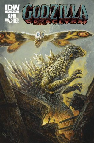 Godzilla: Cataclysm #4 (Subscription Cover)