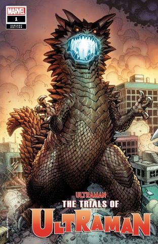 The Trials of Ultraman #1 (Art Adams Kaiju Cover)