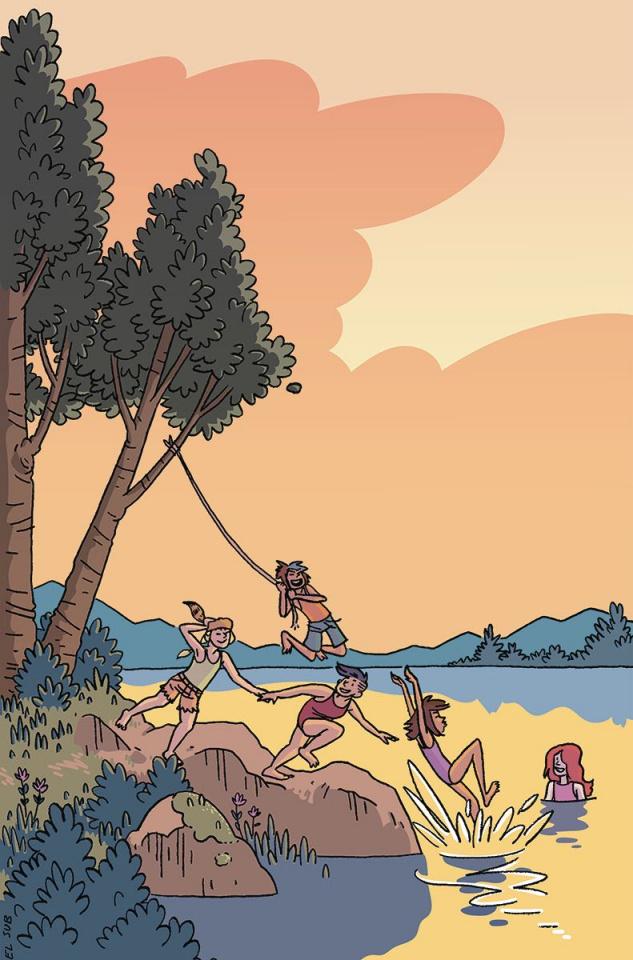 Lumberjanes #30 (20 Copy Suburbia Cover)