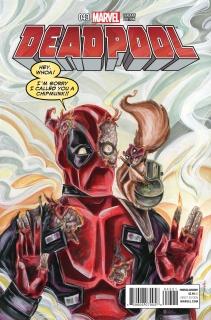 Deadpool #43 (Women of Marvel Richard Cover)